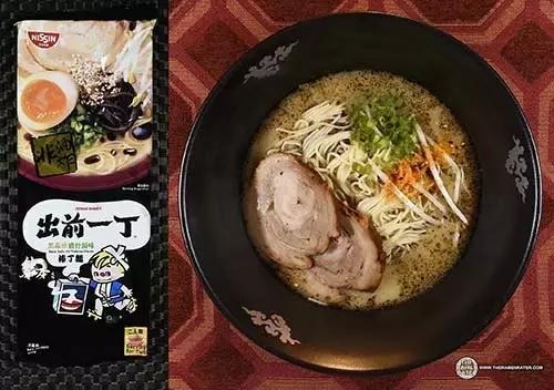 作为香港餐饮文化的旗帜之一,本次出战的出前一丁竟然是高配版,竞争力
